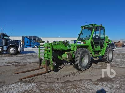 2014 MERLO P40.17 9000 Lb 4x4x4 Telescopic Forklift