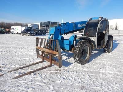 2007 GENIE GTH844 8000 Lb 4x4x4 Telescopic Forklift