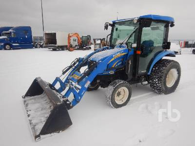 2012 NEW HOLLAND 3050 Boomer Series II MFWD Utility Tractor