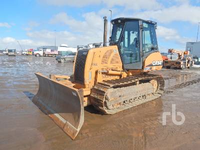 2009 CASE 850L XLT Crawler Tractor