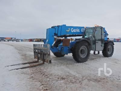 2012 GENIE GTH1056 10000 Lb 4x4x4 Telescopic Forklift