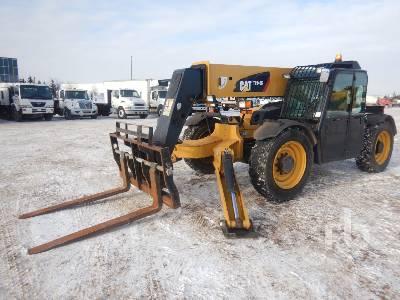 2015 CATERPILLAR TL943C 9000 Lb 4x4x4 Telescopic Forklift