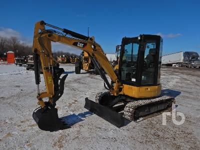 2016 CATERPILLAR 303.5E2 CR Mini Excavator (1 - 4.9 Tons)