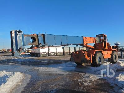 1982 KOEHRING LRT330 33 Ton 4x4x4 Rough Terrain Crane