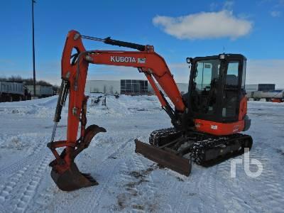 2013 KUBOTA KX040-4 Mini Excavator (1 - 4.9 Tons)