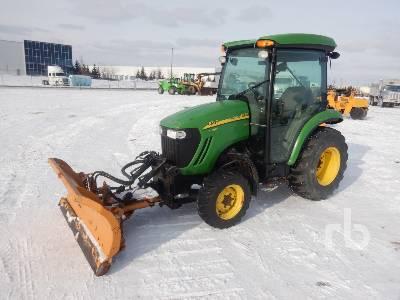 2008 JOHN DEERE 3720 Utility Tractor
