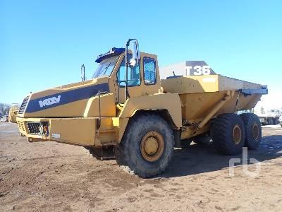 2001 MOXY MT36 6x6 Articulated Dump Truck