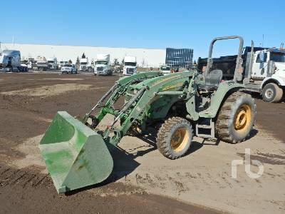 2005 JOHN DEERE 4520 MFWD Utility Tractor