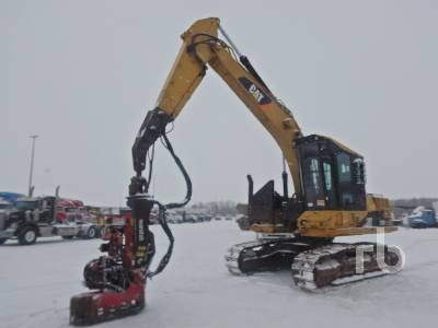 2010 CATERPILLAR 320D FM Crawler Processor