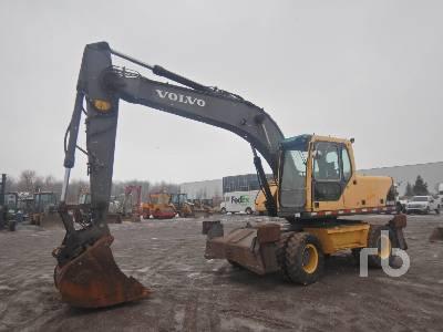 2006 VOLVO EW180B Mobile Excavator