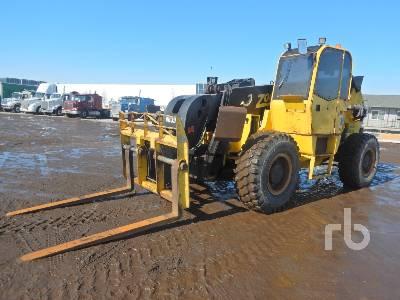 2010 SKYJACK ZB20044 20000 Lb 4x4x4 Telescopic Forklift