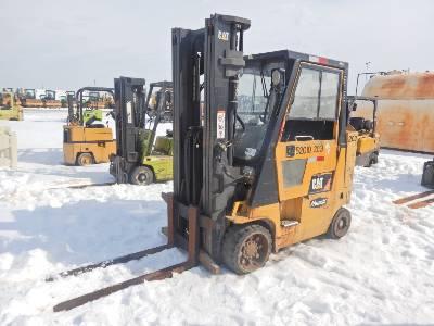2010 CATERPILLAR GC40KS 5920 Lb Forklift