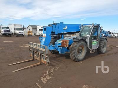 2010 GENIE GTH1056 10000 Lb 4x4x4 Telescopic Forklift
