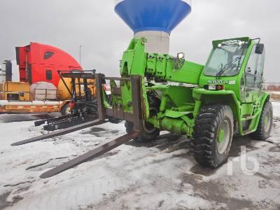 2013 MERLO P50.18HM 11000 Lb 4x4x4 Telescopic Forklift