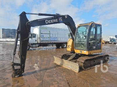 2012 JOHN DEERE 75D Midi Excavator (5 - 9.9 Tons)