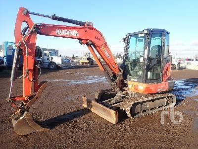 2014 KUBOTA KX040-4 Mini Excavator (1 - 4.9 Tons)