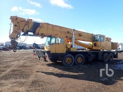 1981 GROVE 8465G 60 Ton 8x4x4 Hydraulic Truck Crane
