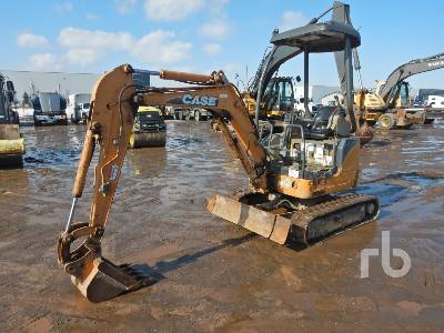 2010 CASE CX17B Mini Excavator (1 - 4.9 Tons)