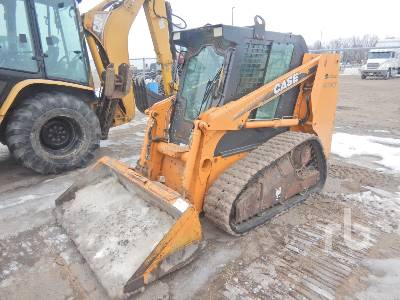 2006 CASE 420CT Compact Track Loader