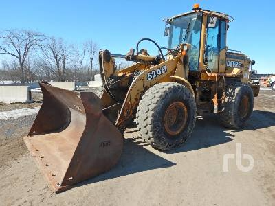 1998 JOHN DEERE 624H Wheel Loader
