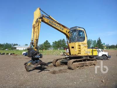KOMATSU PC250LC-6L Crawler Log Loader