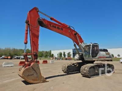 2011 LINK-BELT 460LX Hydraulic Excavator