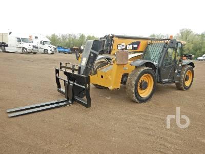 2016 CAT TL943 9000 Lb 4x4x4 Telescopic Forklift