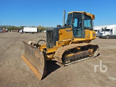 2012 JOHN DEERE 700J XLT Crawler Tractor