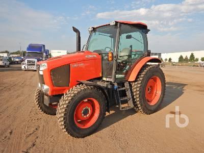 2018 KUBOTA M6-101 MFWD Tractor