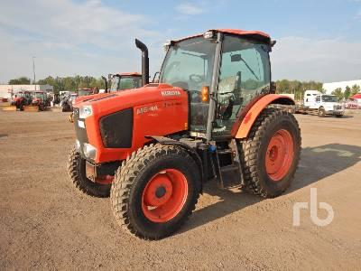 2016 KUBOTA M6-101 MFWD Tractor