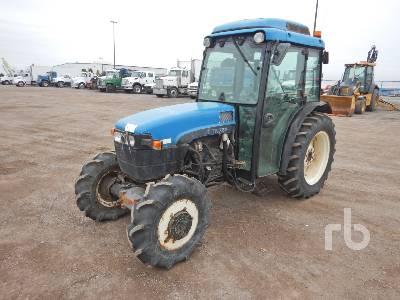 2000 NEW HOLLAND TN75F MFWD Tractor