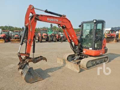 2017 KUBOTA KX040-4 Mini Excavator (1 - 4.9 Tons)