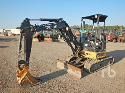 2018 JOHN DEERE 30G Mini Excavator (1 - 4.9 Tons)