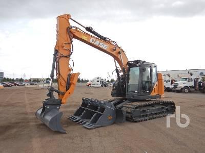 2018 CASE CX145DSR Hydraulic Excavator
