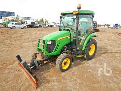 2008 JOHN DEERE 3320 Utility Tractor