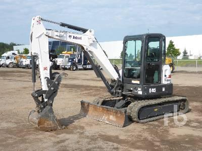 2019 BOBCAT E45 Mini Excavator (1 - 4.9 Tons)