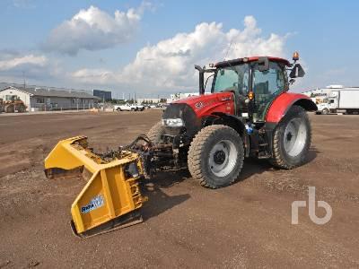 2016 CASE IH MAXXUM 125 MFWD Tractor