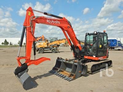 2018 KUBOTA KX080-4 Midi Excavator (5 - 9.9 Tons)