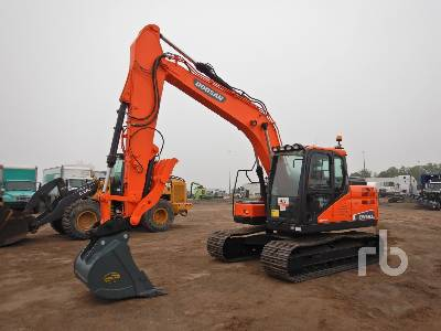 2015 DOOSAN DX140LC-5 Hydraulic Excavator