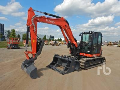 2020 KUBOTA KX080-4 Midi Excavator (5 - 9.9 Tons)
