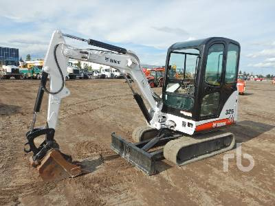 2007 BOBCAT 325 Mini Excavator (1 - 4.9 Tons)