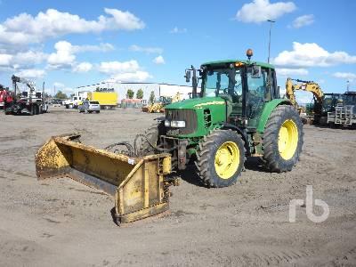 2011 JOHN DEERE 6430 MFWD Tractor