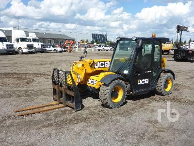 2018 JCB 505-20TC 5500 Lb 4x4x4 Telescopic Forklift