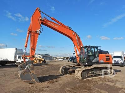 2015 HITACHI ZX300LC-6N Hydraulic Excavator