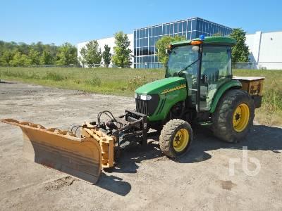 2013 JOHN DEERE 4320 MFWD Utility Tractor