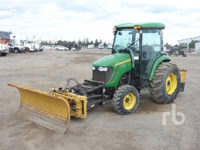 2013 JOHN DEERE 4320 eHydro MFWD Utility Tractor