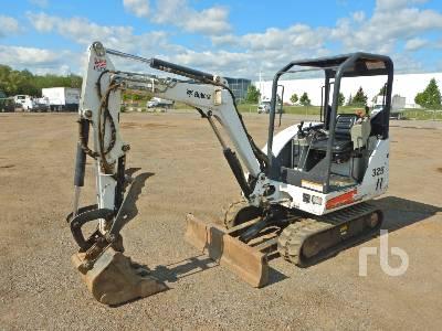2011 BOBCAT 325G Mini Excavator (1 - 4.9 Tons)