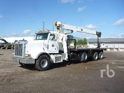 2002 PETERBILT 378 Tri/A w/JLG 1410JBT 14 Ton Boom Truck