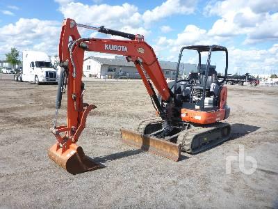 2016 KUBOTA KX040-4 Mini Excavator (1 - 4.9 Tons)