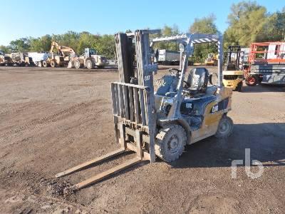 2007 CATERPILLAR P5000 4500 Lb Forklift